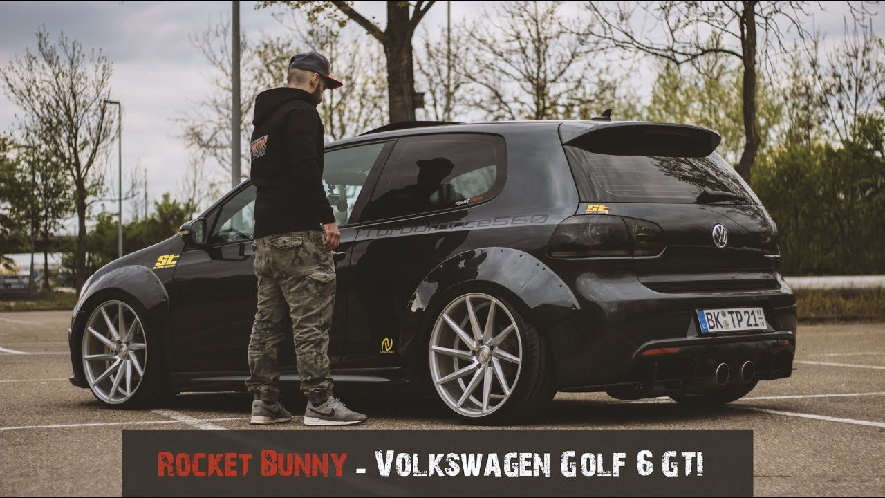 rocket bunny vw golf 6 gti us model performance tuning youtube. Black Bedroom Furniture Sets. Home Design Ideas