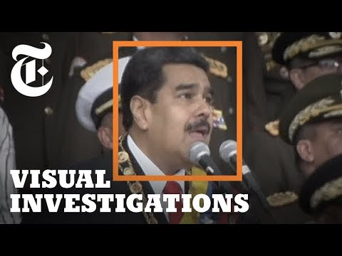 How the Drone Attack on Maduro Unfolded in Venezuela | NYT - Visual Investigations