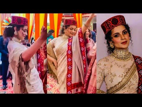 നൃത്തച്ചുവടുകളുമായി Kangana Ranaut | Thalaivi | Viral Video