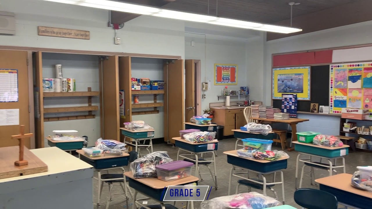 Virtual Tour of Holy Name School - Fall River, MA - YouTube