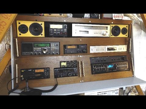 My new hand built radio shack desk.