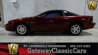 Stock #81 2002 Chevrolet Camaro Z28 - GatewayClassicCars of Fort Lauderdale