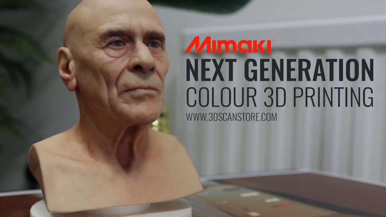 Next Generation Colour 3D Prints By Mimaki