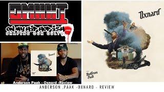 ANDERSON .PAAK OXNARD ALBUM REACTION HIP HOP ISH