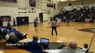 Boys basketball highlights: King's Way Christian vs. La Center