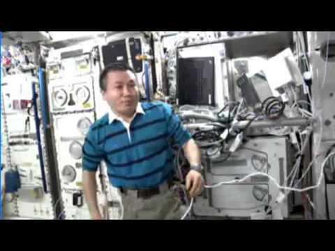 HamTV on ISS - Koichi Wakata 13 April 2014