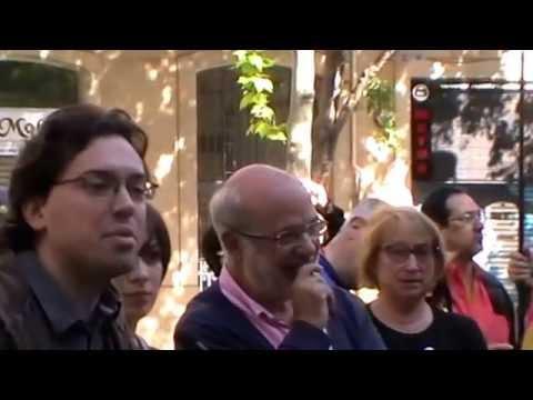 1 de maig de 2014, (1) actes al monument a Francesc Layret