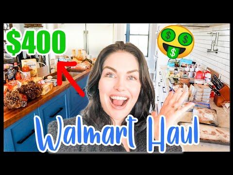 2020 HUGE WALMART GROCERY HAUL | WE SHOP LIKE A LARGE FAMILY | SARAH'S WIFESTYLE