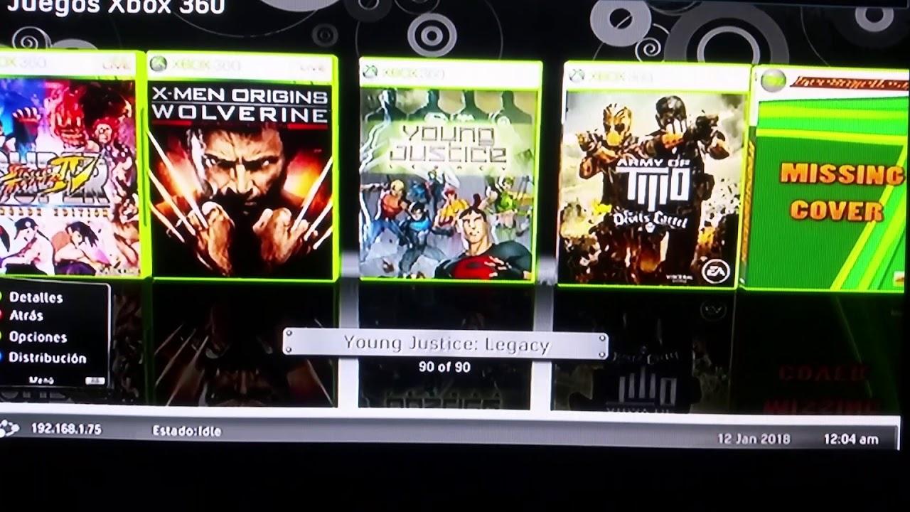 Como Poner Caratulas A Los Juegos Xbox 360 Rgh 2018 Bien Explicado