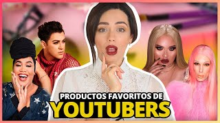 MIS PRODUCTOS FAVORITOS DE YOUTUBERS! | TOP 5