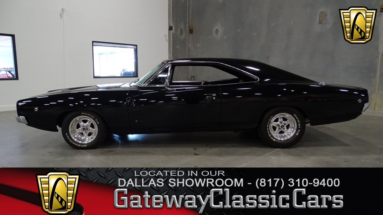 1968 Dodge Charger #354-DFW Gateway Classic Cars of Dallas - YouTube