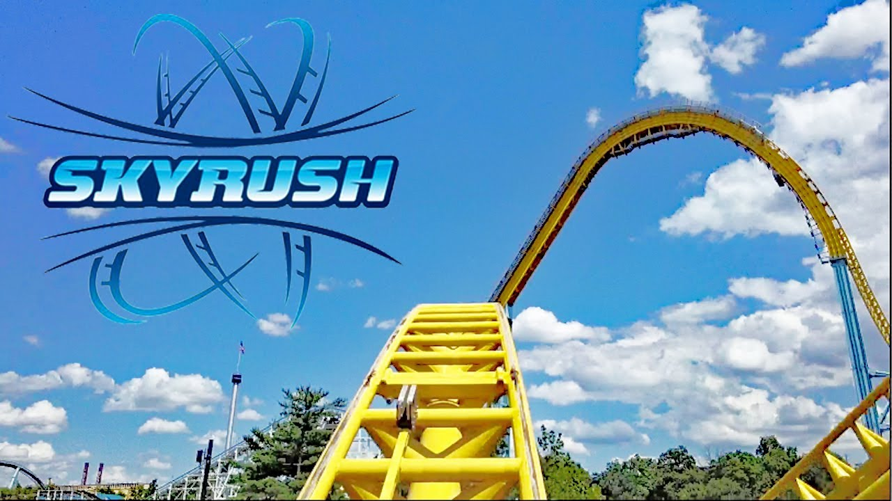 Skyrush Hd Front Seat On Ride Pov Review Fantastic Prototype