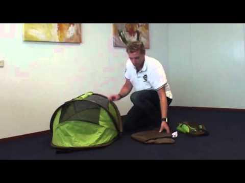Deryan Peuter Campingbedje.Bed En Box Deryan Youtube