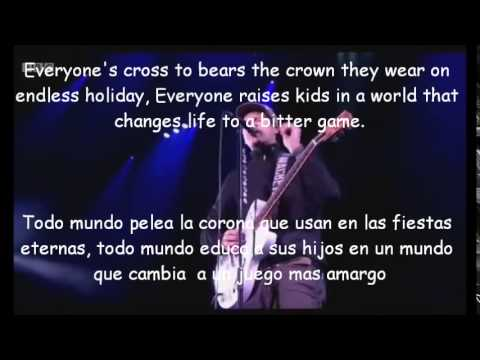 Blink 182-Up all night Lyrics y Subtitulos LIVE 2014