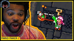 I Love Yoshi, But He Has To Die For Me To Live! Super Mario Maker 2