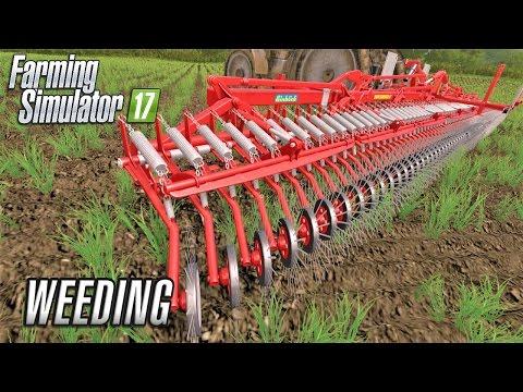 Farming Simulator 2017 | WEEDING | Coldborough Park Farm | Episode 19