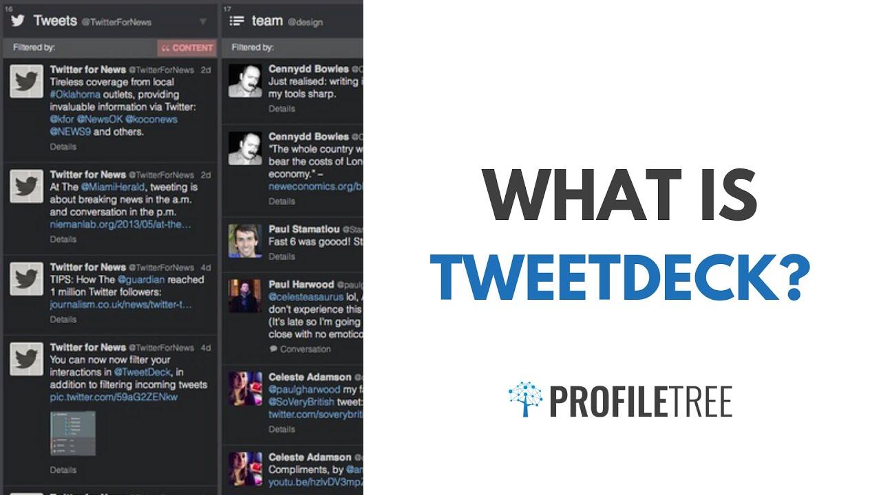 What Is TweetDeck? Your Twitter Coordinator