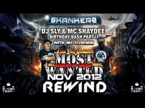 DJ SLY with MCs SHAYDEE & STORMIN - Rough Tempo LIVE! - November 2012