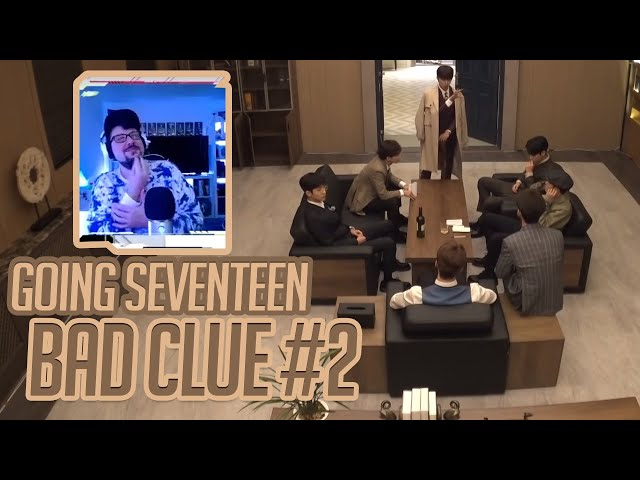 Mikey Reacts to GOING SEVENTEEN - Bad Clue 2