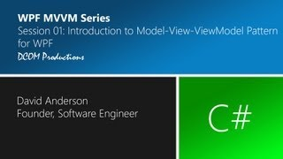 MVVM Session 01 - Introduction to Model-View-ViewModel Pattern for WPF