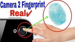 [REAL] Phone camera to Fingerprint scanner || Only for unlocking phone supported || HD ||