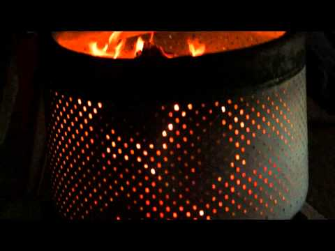 Metal Fire Pit at Sue's Trading Post & Flowers, 12 December 2014, Ajo, Arizona, 00013