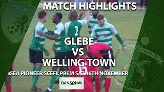 HIGHLIGHTS - Glebe 1-1 Welling Town from the SCEFL Premier