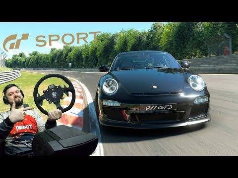 Зелёный АД на НОВОМ руле и Porsche 911 GT3 в Gran Turismo Sport thumbnail