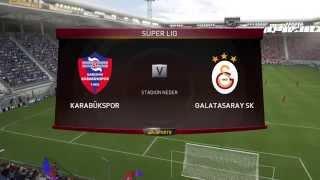 Kardemir Karabükspor Galatasaray maçı ne zaman 2018