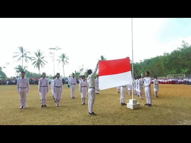 Cuplikan Upacara Peringatan HUT RI Ke 74 Desa Karanglayung Kecamatan Karangjaya SUKSES!