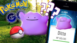 POKEMON GO - HOW TO CATCH DITTO? (DITTO EASTER EGG)