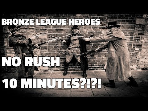 BRONZE LEAGUE HEROES #37- NO RUSH 10 MINUTES - McBistro v Kilaser