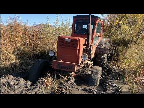 Трактор Т 40 застрял в Грязи | Трактор Оффроад 2019