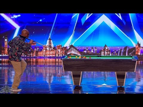 Britain's Got Talent 2018 Jobo Don't Think Dancing & Billiards Go Together Full Audition S12E06