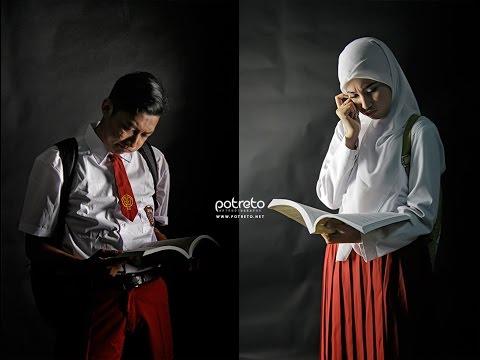 Kumpulan Contoh Foto Prewedding Unik Indoor Hijab Muslim Cantik