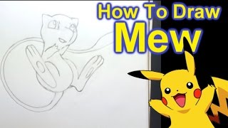 How To Draw Mew