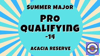 Golf Clash - Summer Major - PRO talkthru (-14)