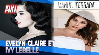 Evelyn Claire et  vy Lebelle   AVN Expo 2019 avec Benzaie