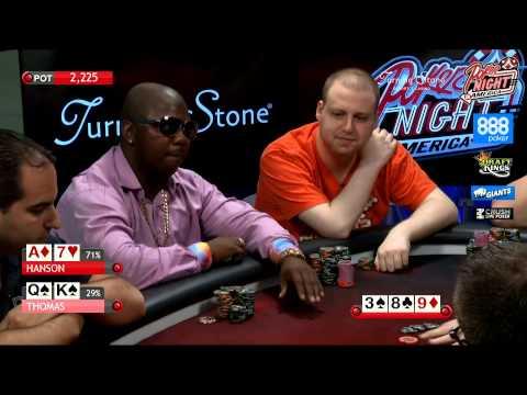 Poker Night in America | Live Stream | 8-9-15 | Turning Stone Casino - Verona, NY (1/2)