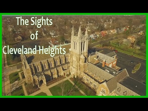 Sights of Cleveland Heights - Part 1 - Phantom 3 Pro Drone - Aerial Video