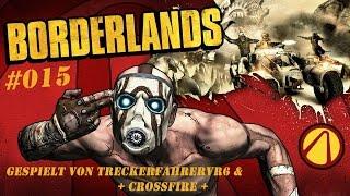 Let's Play Borderlands 1 #015 Aus dem Auto schiessen [Koop] [HD]