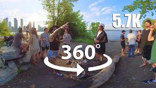 Virtual Nature  Best VR 360° VIDEO  Immersive Beach Experience 5.7K