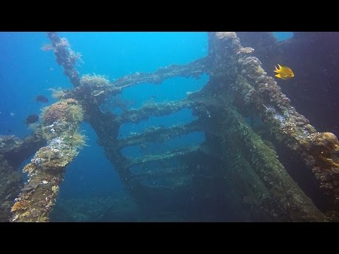 Diving USAT Liberty Wreck Tulamben, Bali Indonesia