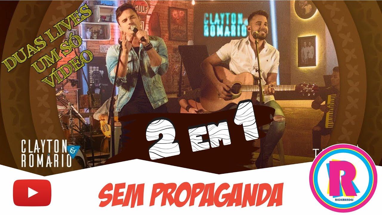 Download LIVE CLAYTON & ROMÁRIO - 2 EM 1 ‹ SEM PROPAGANDA ›