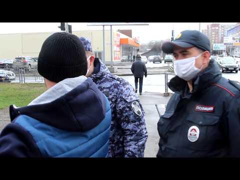 В Томске осуществляются ежедневные проверки соблюдения карантинных мероприятий и режима самоизоляции