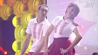 Шоу «Две звезды на СТВ». Суперфинал: Нина Король и Юрий Таболин
