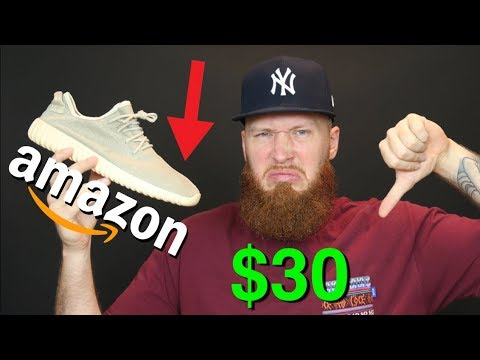 ba8f51d39 I BOUGHT FAKE YEEZYS FOR  30 ON AMAZON!! HERE S WHY... - YouTube