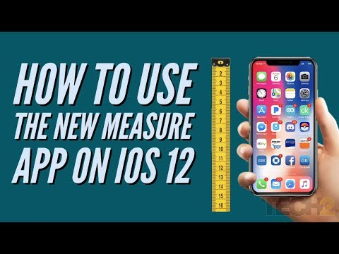 How to use the new Measure app on iOS 12
