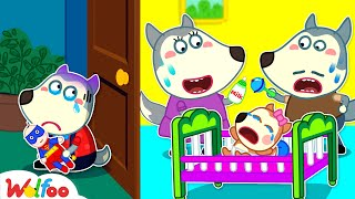 Wolfoo, Don't Feel Jealous! Baby Needs Mommy Care More - Kids Stories About Family | Wolfoo Channel