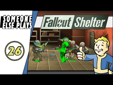 Fallout Shelter - Ep. 26 - A Gathering Of Ghouls! | (Let's Play/PC Gameplay)